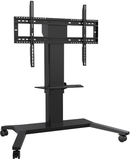 Mobile stand with electrical adjustment height